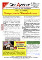 Oise Avenir n° 1318 du 19 novembre 2015