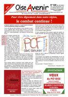 Oise Avenir n° 1320 du 22 décembre 2015