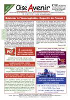 Oise Avenir n° 1321 du 22 janvier 2016