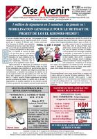 Oise Avenir n° 1322 du 4 mars 2016