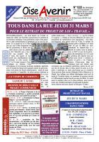 Oise Avenir n° 1323 du 25 mars 2016