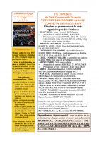 Oise Avenir n° 1324 du 22 avril 2016 - Encart « Modalités de vote sur le choix de la base commune de discussion »