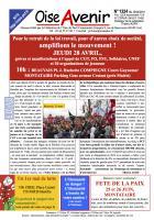 Oise Avenir n° 1324 du 22 avril 2016