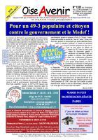 Oise Avenir n° 1325 du 27 mai 2016
