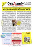Oise Avenir n° 1326 du 1er juillet 2016