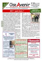 Oise Avenir n° 1330 du 17 novembre 2016