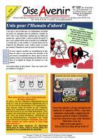 Oise Avenir n° 1331 du 15 décembre 2016
