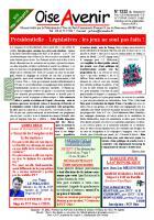 Oise Avenir n° 1332 du 16 février 2017