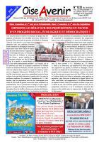 Oise Avenir n° 1333 du 24 mars 2017
