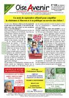 Oise Avenir n° 1336 du 30 août 2017