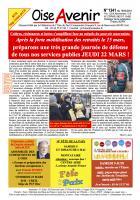 Oise Avenir n° 1341 du 16 mars 2018