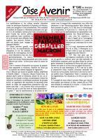 Oise Avenir n° 1342 du 26 avril 2018