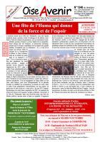Oise Avenir n° 1346 du 26 septembre 2018