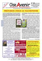 Oise Avenir n° 1348 du 19 novembre 2018
