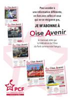 Encart - Abonnement « Oise Avenir » - Oise Avenir n° 1355, 2 septembre 2019