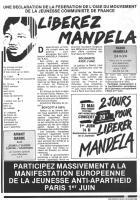 Oise Avenir n° 456 - 17 avril 1986 - Page 3 - Libérez Mandela