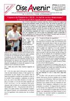 N° spécial de Oise Avenir ! Urgences de l'hôpital de Creil : le chef de service démissionne ! Le Docteur Loïc Pen répond à nos questions - 24 décembre 2018