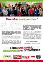 « Ensemble, nous pouvons » - L'Oise Solidaire, Écologiste et Citoyenne, mars 2015