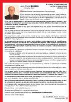Appel de Jean-Pierre Bosino pour le second tour des élections départementales - OSEC60, canton de Montataire, 23 mars 2015
