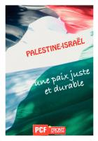 Palestine-Israël : Une paix juste et durable