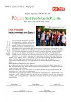 4 pages « Unis et soudés, nous sommes une force » - Nord-Pas-de-Calais-Picardie, 27 juin 2015