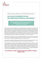 Un plan d'urgence pour les hôpitaux publics, pour les Ehpad ! - PCF, mai 2020