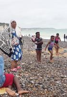 Encore une belle journée pour revendiquer concrètement le droit aux vacances, le droit au bonheur pour toutes et tous ! - Dieppe, 17 août 2019