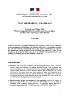 Plan Solidarité-Grand Âge - 27 juin 2006