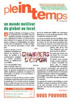 Plein Temps - Février 2015 - Un monde meilleur du local au global !
