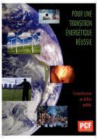 Pour une transition énergétique réussie - Contribution  au débat public