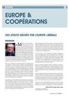 Francis Wurtz « Ces atouts gâchés par l'Europe libérale » - Progressistes n° 4, avril-mai-juin 2014