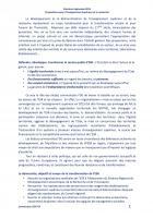 Propositions pour l'Enseignement supérieur et la Recherche - Document de travail de la Commission ESR pour les Régionales 2015