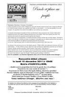 Haudivillers - Quelles sont les propositions du Front de Gauche face à la politique d'austérité et de casse sociale de la droite ?