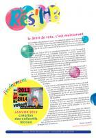 Rés Lib' - Janvier 2013 - Le droit de vote, c'est maintenant !