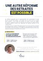 4 pages « Une autre réforme des retraites est possible » -PCF, 26 novembre 2019