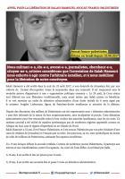 Appel pour la libération de Salah Hamouri, avocat franco-palestinien - Octobre 2017