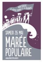 Tract « Samedi 26 mai, marée populaire » - PCF, 16 mai 2018
