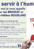 Appel à voter de Thierry Aury avec l'équipe de l'humain d'abord à Beauvais, pour la liste conduite par Ian Brossat - Élections européennes, 26 mai 2019
