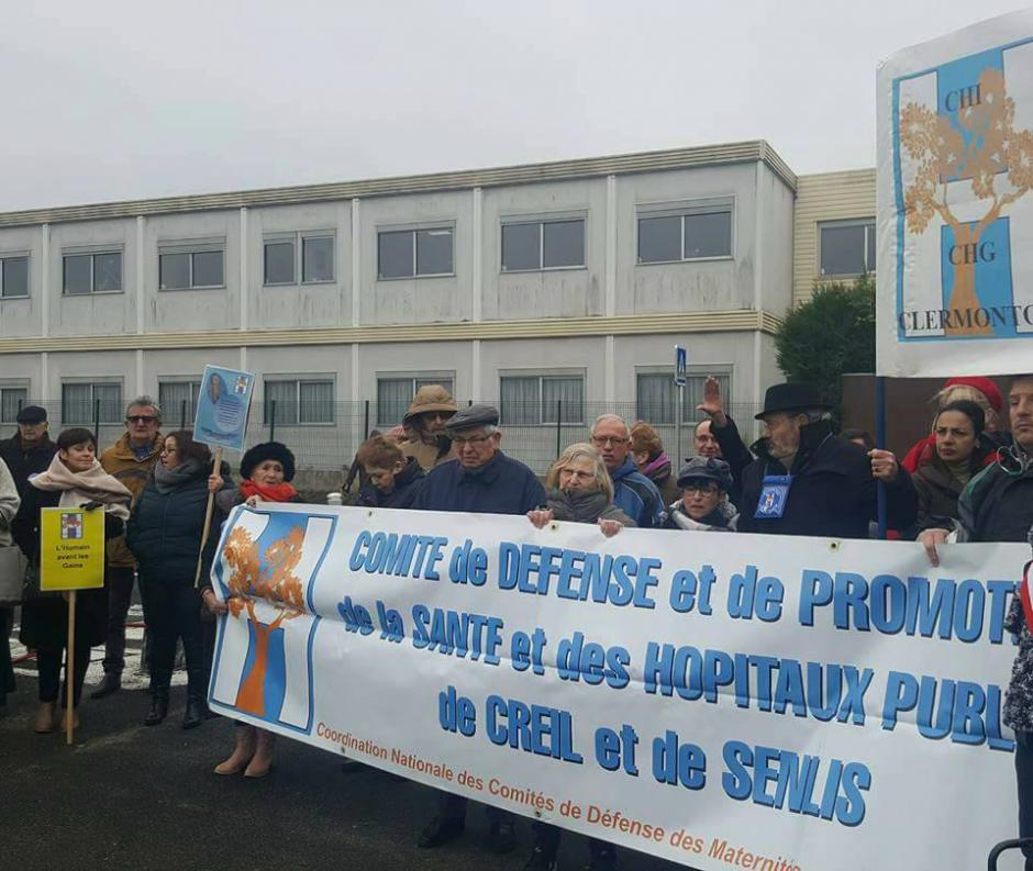 Mobilisons-nous contre la fermeture de la maternité de Creil !