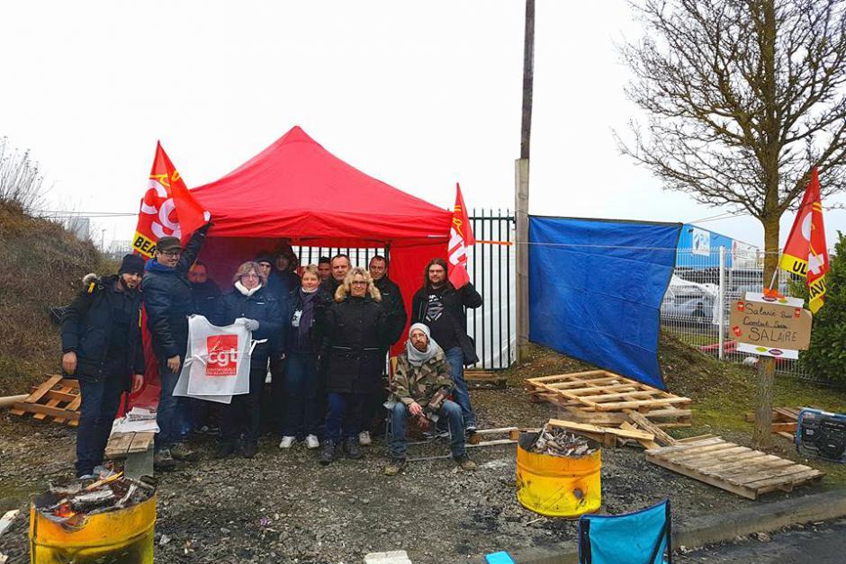 Victoire des grévistes de Corolis ! - Beauvais, 5 février 2018