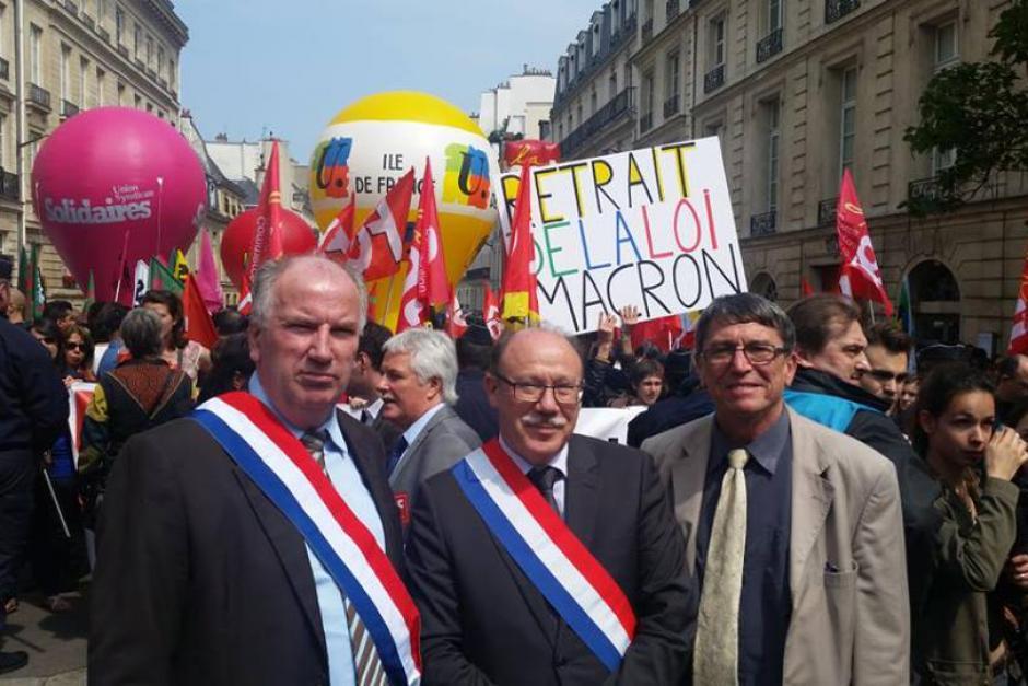 Loi Macron : le groupe Communiste Républicain et Citoyen continue la lutte pour un autre projet de société - Sénat, 12 mai 2015