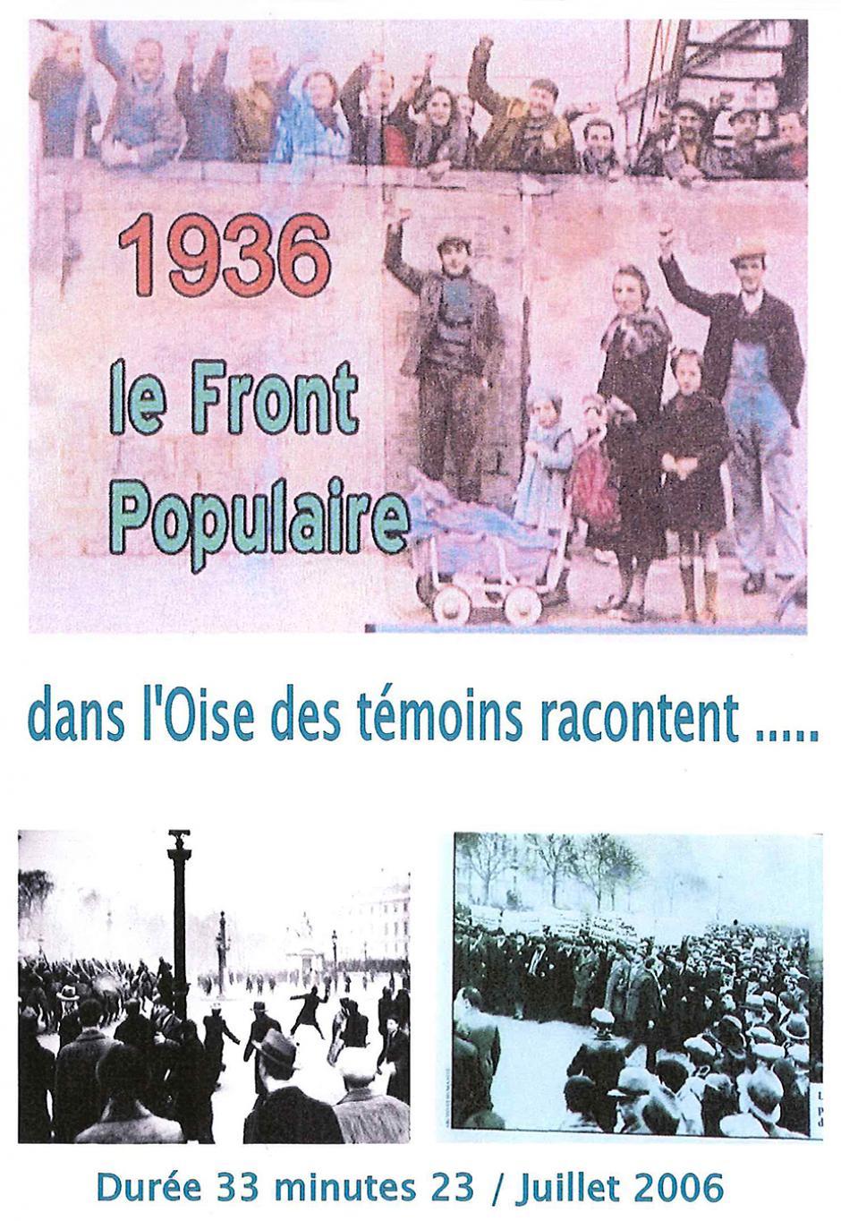 1936, le Front populaire : dans l'Oise, des témoins racontent…