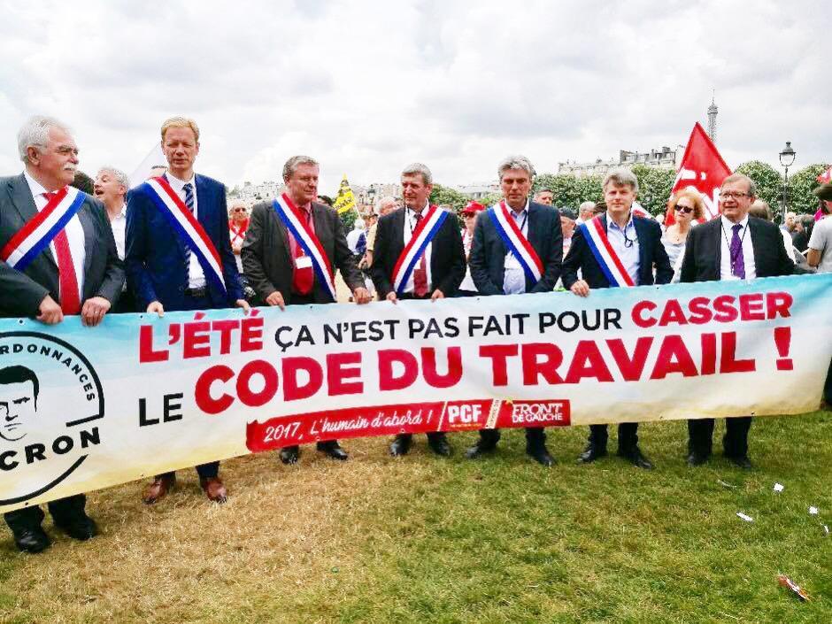 Code du travail : mobilisons-nous avec les députés communistes contre les ordonnances Macron - 27 juin 2017