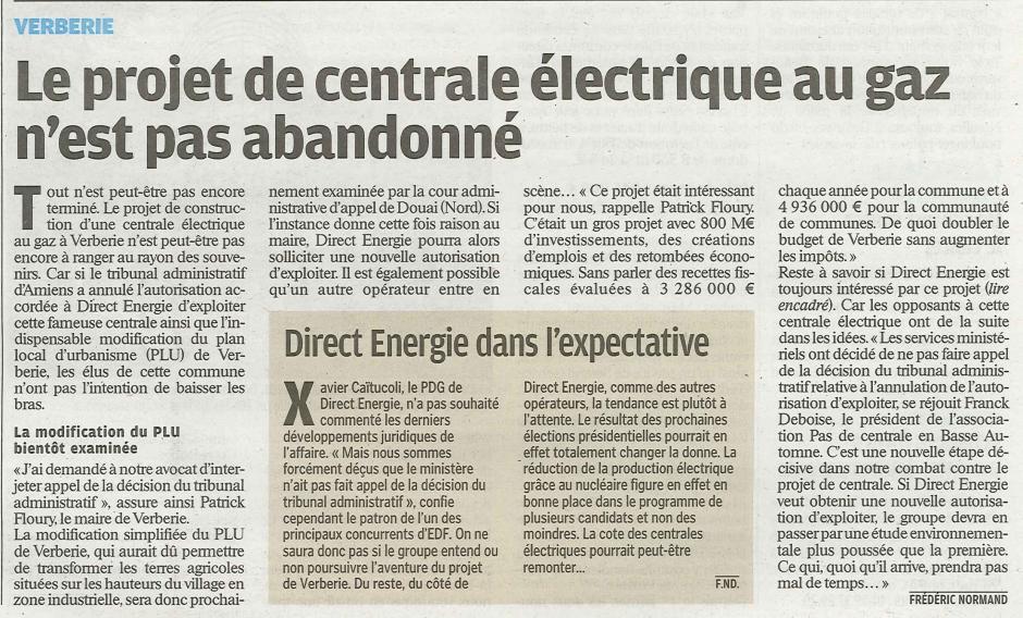20120204-LeP-Verberie-Le projet de centrale électrique au gaz n'est pas abandonné