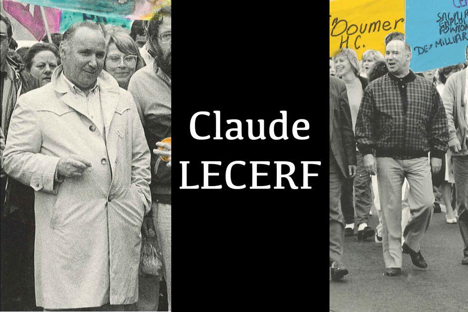 Claude Lecerf nous a quittés - 15 avril 2012