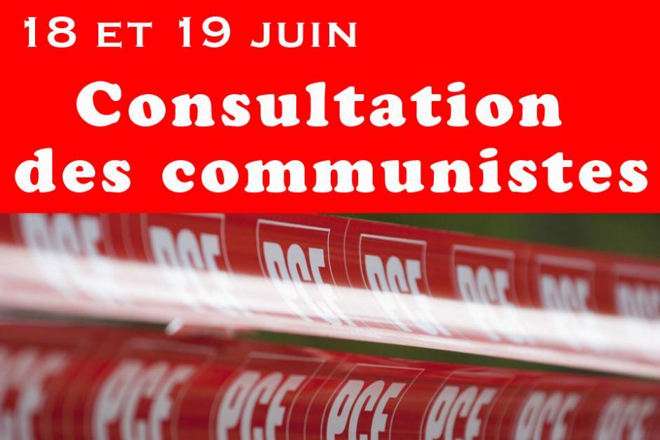 Consultation des communistes - 18 et 19 juin 2012