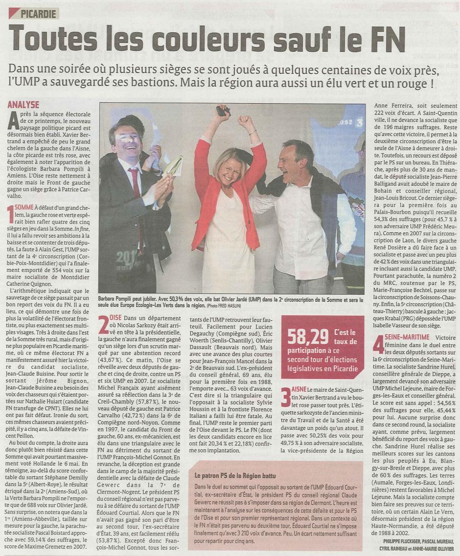 20120618-CP-Législatives-Toutes les couleurs en Picardie, sauf le FN