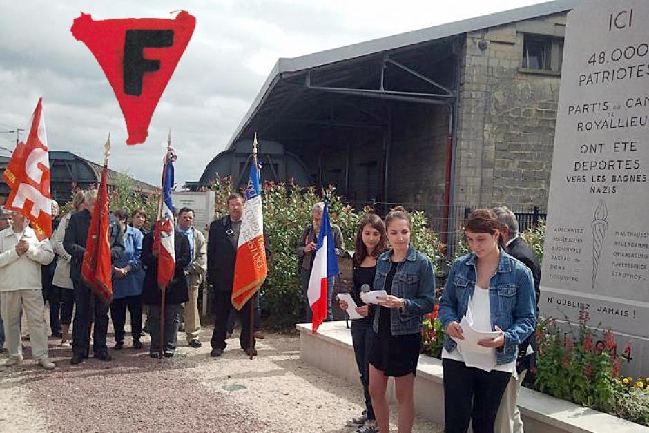 Commémoration des convois des 45000 et des 31000 - Nous n'oublions pas - Compiègne, 7 juillet 2012
