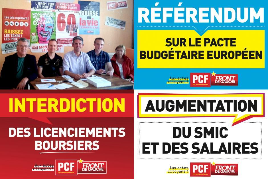 Les communistes « sur le pont » durant l'été ! - Beauvais, 11 juillet 2012
