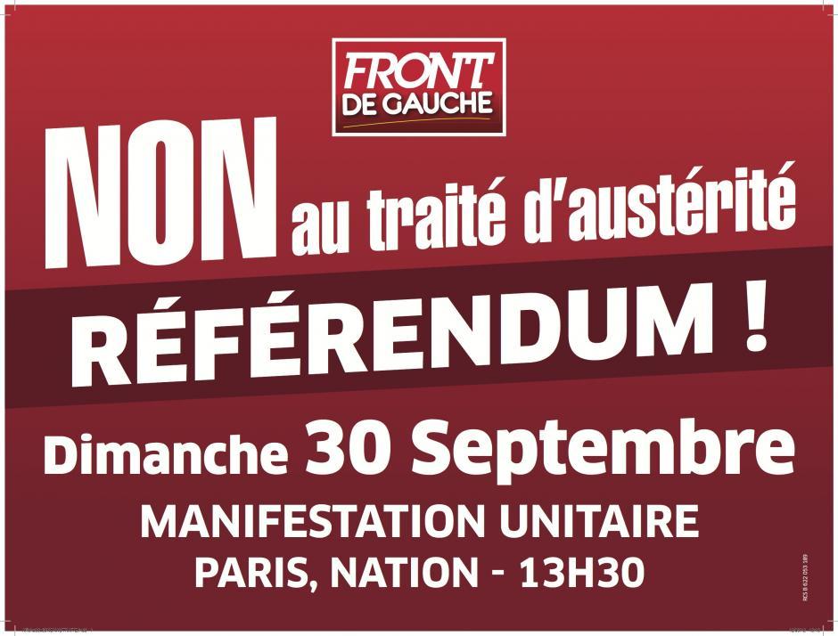 27 septembre, Crépy-en-Valois - Assemblée citoyenne sur le traité d'austérité